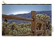 Joshua Tree Cholla Garden Carry-all Pouch