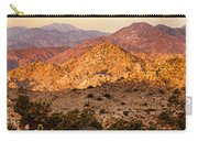 Joshua Tree Sunrise Panorama Carry-all Pouch