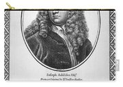 Jospeh Addison (1672-1719) Carry-all Pouch