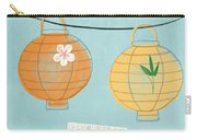 Joy Lanterns Carry-all Pouch by Linda Woods