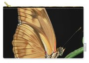 Julia Butterfly Dryas Iulia Portrait Carry-all Pouch