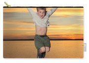 Jumping For Joy Carry-all Pouch by Ted Kinsman