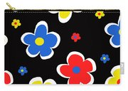 Junior Florals Carry-all Pouch by Louisa Knight