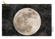 Just A Little Ole Super Moon Carry-all Pouch by Andee Design