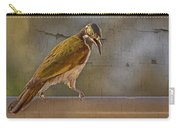 Juvenile Blue Faced Honeyeater V2 Carry-all Pouch