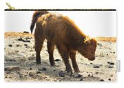 Juvenile Scottish Highlander Cattle Carry-all Pouch
