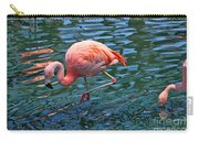 Jw Marriot Flamingo Carry-all Pouch