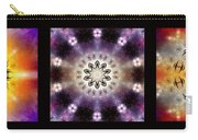 Kaleidoscope - Triptych Carry-all Pouch