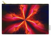 Kaliedoscope Flower 121011 Carry-all Pouch by David Lane