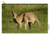 Kangaroo Male Carry-all Pouch by Bob Christopher