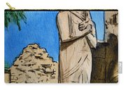 Karnak Temple Egypt Carry-all Pouch by Irina Sztukowski