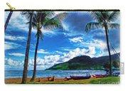 Kauai Beach And Palms Carry-all Pouch