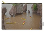 Kayaks At Hopewell Rocks Carry-all Pouch