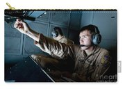 Kc-10 Extender Boom Operator Adjusts Carry-all Pouch