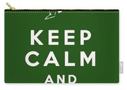 Keep Calm And Cowboy On Carry-all Pouch