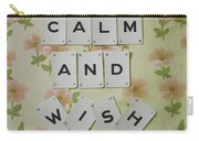 Keep Calm And Wish On Carry-all Pouch