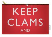 Keep Clams And Carrion Carry-all Pouch
