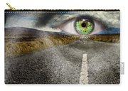 Keep Your Eyes On The Road Carry-all Pouch