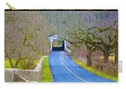 Kennedy's Bridge Over French Creek Carry-all Pouch