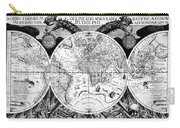 Keplers World Map, Tabulae Carry-all Pouch by Science Source
