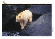 Kermode Bear On Boulder Hunting Salmon Carry-all Pouch
