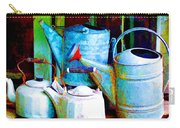 Kettles And Cans To Water The Garden Carry-all Pouch