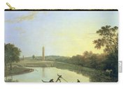 Kew Gardens - The Pagoda And Bridge Carry-all Pouch by Richard Wilson
