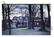 Kew Park At Dusk Carry-all Pouch by Elena Elisseeva