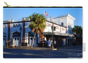 Key West Bar Sloppy Joes Carry-all Pouch by Susanne Van Hulst