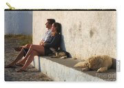 Kicking Back In Greece Carry-all Pouch