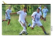 Kicking Soccer Ball Carry-all Pouch