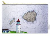 Kilauea Point Lighthouse On Noaa Chart Carry-all Pouch