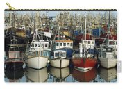 Kilkeel, Co Down, Ireland Rows Of Boats Carry-all Pouch