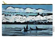 Killer Whales Carry-all Pouch