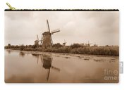 Kinderdijk In Sepia Carry-all Pouch