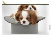 King Charles Spaniel Puppies Carry-all Pouch