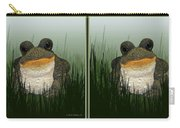 King Frog - Gently Cross Your Eyes And Focus On The Middle Image Carry-all Pouch