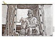 King Of Rex - Painted Bw Carry-all Pouch