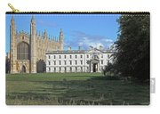Kings College Chapel And The Gibbs Building Carry-all Pouch