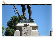 Kings Royal Rifle Corps Memorial In Winchester Carry-all Pouch