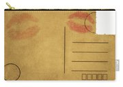 Kiss Lips On Postcard Carry-all Pouch
