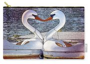 Kissing Swans Carry-all Pouch