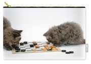 Kittens Playing Checkers Carry-all Pouch