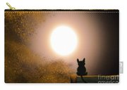 Kitty And The Moon Carry-all Pouch
