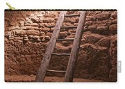 Kiva Ladder At Puye Cliffs Carry-all Pouch