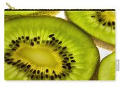 Kiwi Fruit Macro 5 Carry-all Pouch