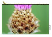 Knapweed Flower Carry-all Pouch