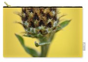Knapweed Plant Carry-all Pouch