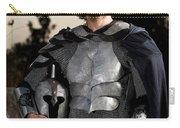 Knight In Shining Armour Carry-all Pouch by Yedidya yos mizrachi