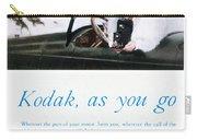 Kodak Advertisement, 1917 Carry-all Pouch